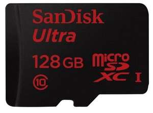 SanDisk Ultra Micro 128GB SDXC Card 80mbps (Class 10) £29.99 - Picstop (Free Delivery)