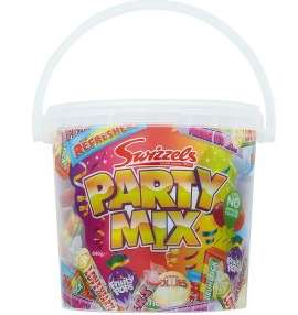 Free Swizzels Party Mix Tub with purchase of 3 party food items @ Iceland