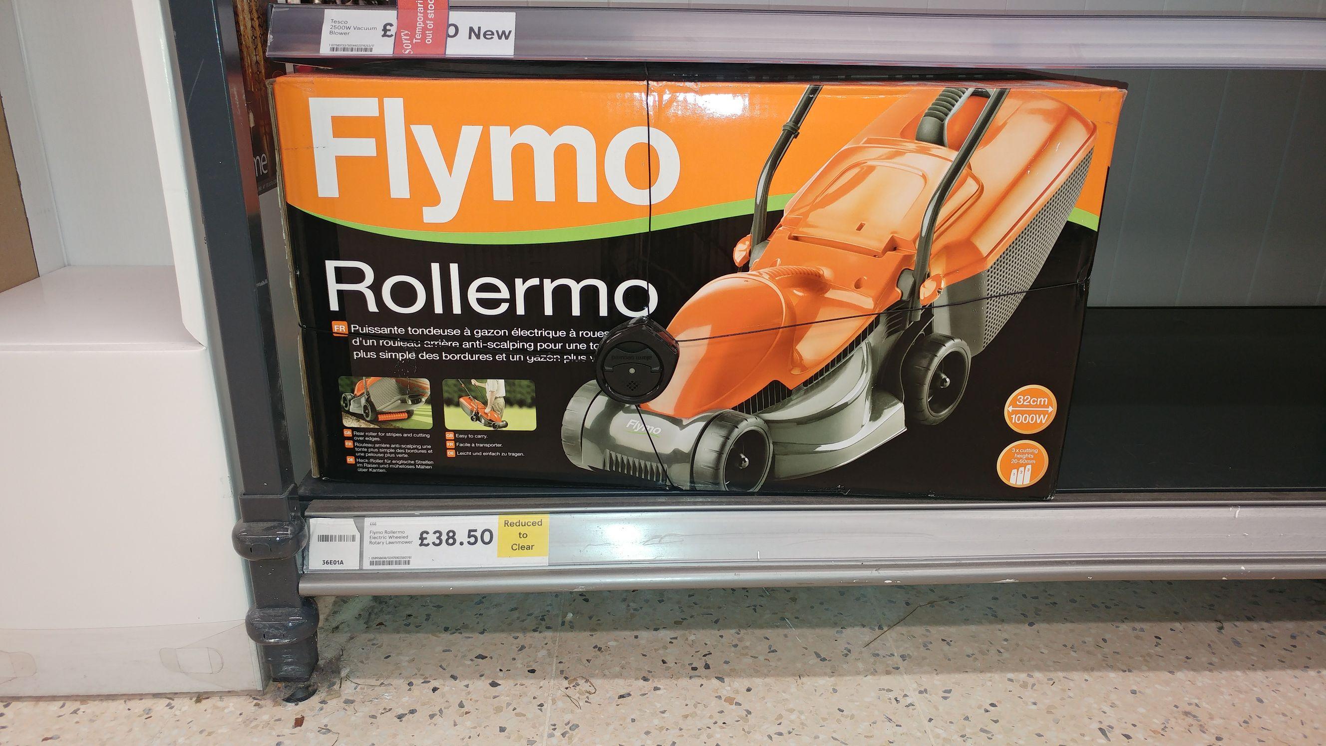 Tesco Flymo Rollermo £38.50 instore @ Tesco - Winchester