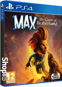 [PRE-ORDER] Max: The Curse of Brotherhood (PS4) - £14.86 - Shopto