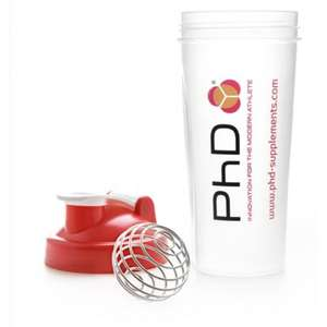 Prime Student Members Get a Free PhD 600ml Mixball Shaker With the Purchase of Selected PhD Protein Powders @ Amazon