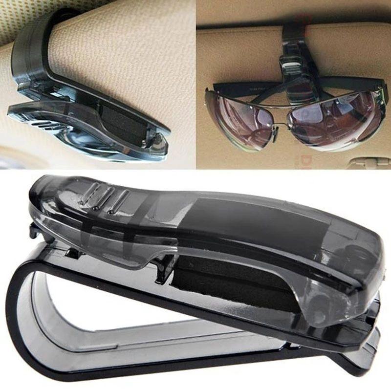 Car Sun Visor Glasses Holder 28p @ Aliexpress