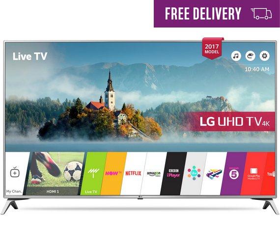 LG 55UJ651v 55 inch 4K HDR TV £566 @ Argos