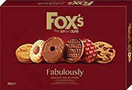 Fox's Fabulousley Biscuit Selection 200G £3.50 ENDS WEDNESDAY @ Spar