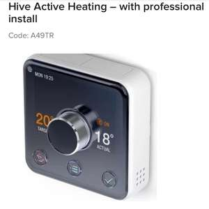 Hive Active Thermostat with installation down to £214 from £249 @ Maplin