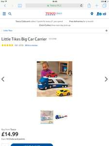 Little Tikes Big Car Carrier £14.99 @ Tesco.com