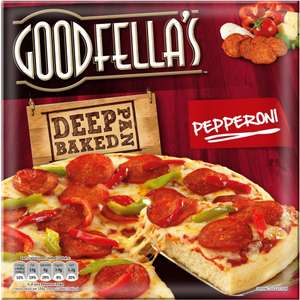 Goodfella's Cheese Deep Pan Baked Pizza (417g) (Rollback Deal) was £2.00 now £1.25 @ Asda
