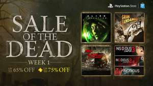 US PSN Sale of the Dead week 1