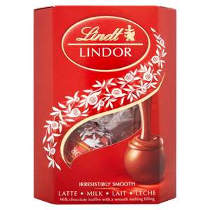 Lindt Lindor Milk Chocolate Cornet Truffles (50g) ONLY £1.00 @ Morrisons