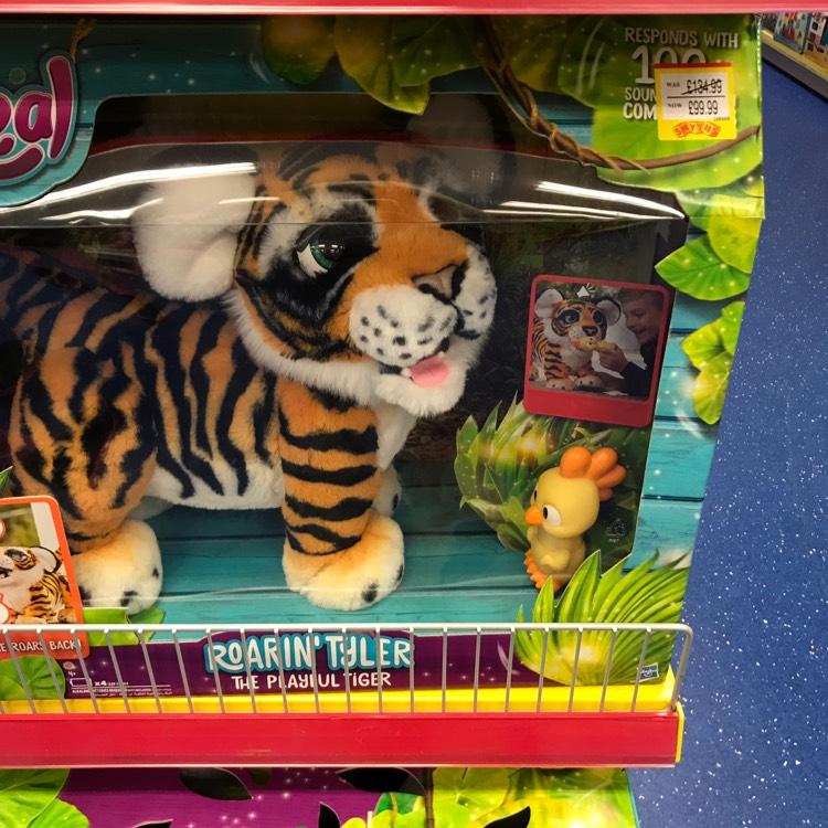 Fur real Roarin Tyler the tiger £99.99 @ Smyths Toys
