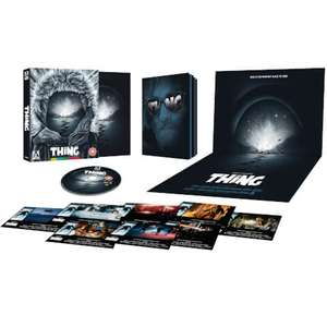 THE THING - LIMITED EDITION BLU-RAY - BACK IN STOCK £19.99 @ Zavvi