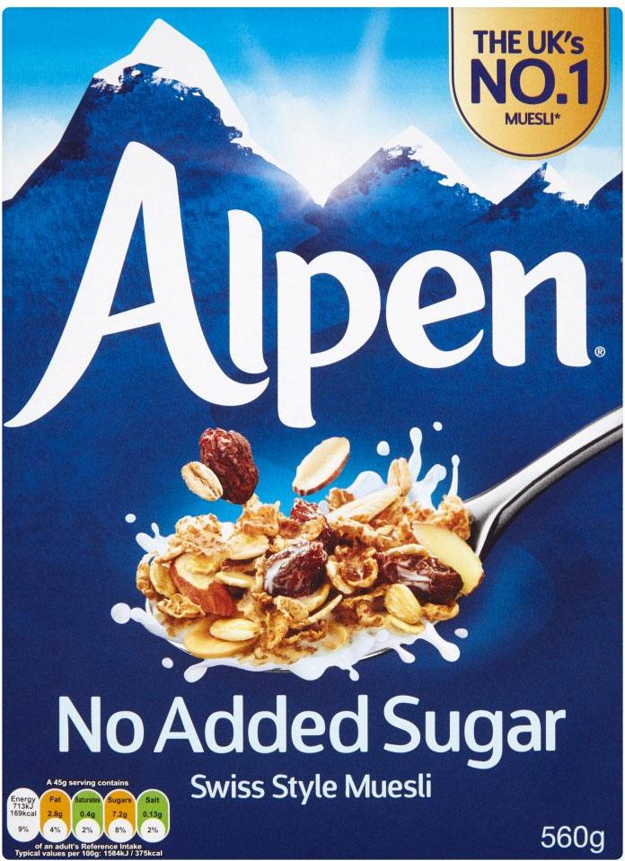 Alpen Original Muesli (750g) Half Price was £2.95 now £1.47 @ Tesco