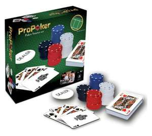 ProPoker 120 Chip Poker Starter Set -  Half price, now £4.49 @ Argos