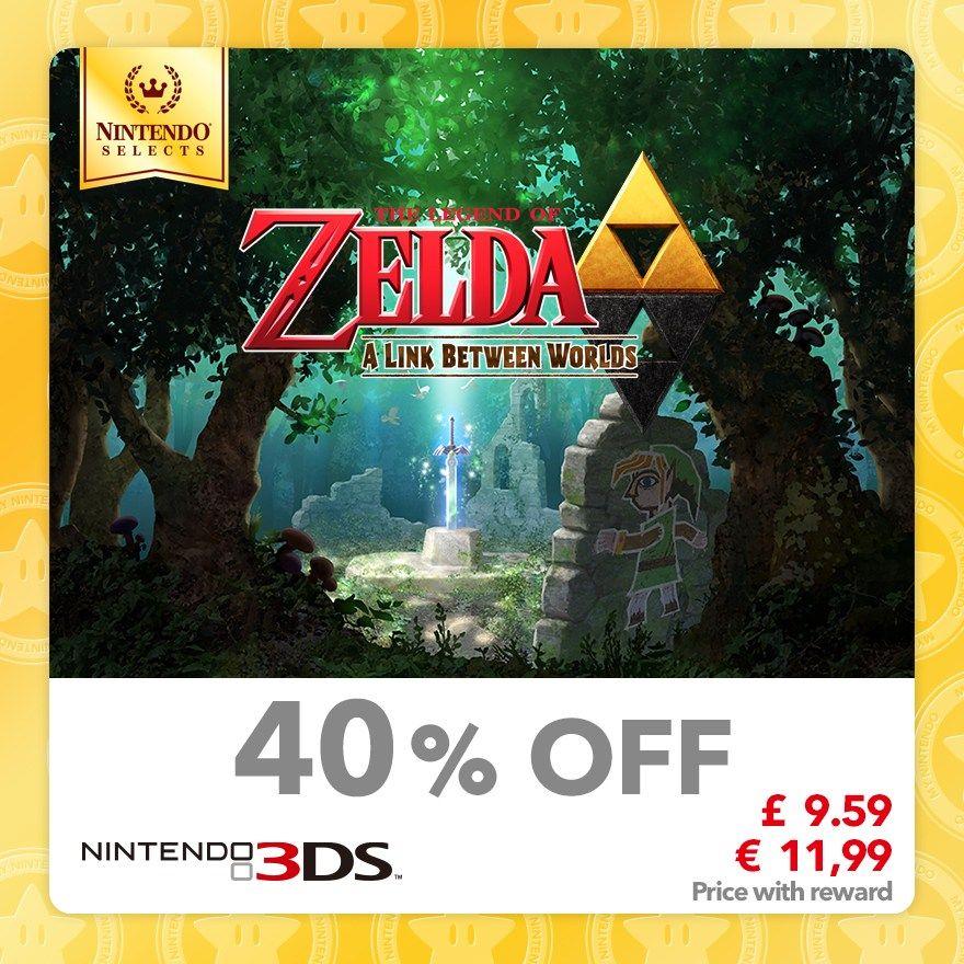 Zelda: A Link Between Worlds [3DS] [60 Gold Points] @ Mynintendo