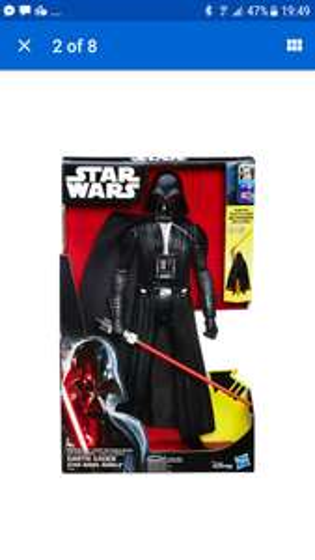 Star Wars Rebels Electronic duel Darth Vader 5.99 delivered @ Argos eBay shop (£13+ elsewhere)