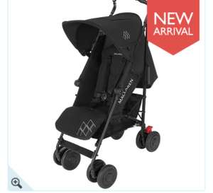 Maclaren Techno XT 3.0 Pushchair Black/Black £161.99 @ Baby & Co