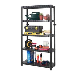 Keter 5 Tier Heavy Duty Shelving £14.99 @ Homebase