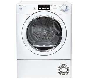 Candy GVCD91WB 9KG Condenser Tumble Dryer- White £159.99 @ Argos