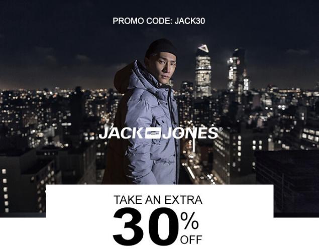 Jack & Jones promo code: JACK30