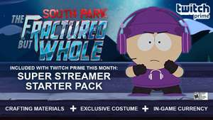 [Xbox One/PS4/PC] South Park: The Fractured But Whole Super Streamer Starter Pack - Free with Amazon (Twitch) Prime - Twitch