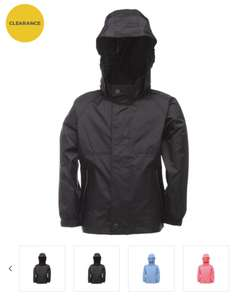 Regatta Kids' Packaway Waterproof Jacket (4 colours) now just £4.99 **Now 2 for £5** + £3.99 delivery @ Winfields Outdoors
