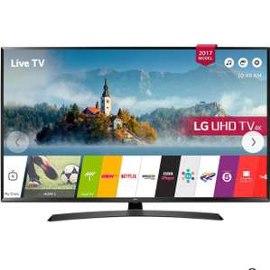 "LG 55UJ635V LED HDR 4K Ultra HD Smart TV, 55"" with Freeview Play & Crescent Stand, Black £579 @ John Lewis"