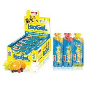 High5 IsoGels - Mixed Flavours Offer 60ml x 25 SAVE 66% - £8.49 @ CRC