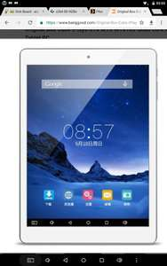 Cube iPlay8 U78 MTK MT8163 Quad Core A53 7.85 Inch Android 6.0 Tablet PC - £38.57 at  BangGood