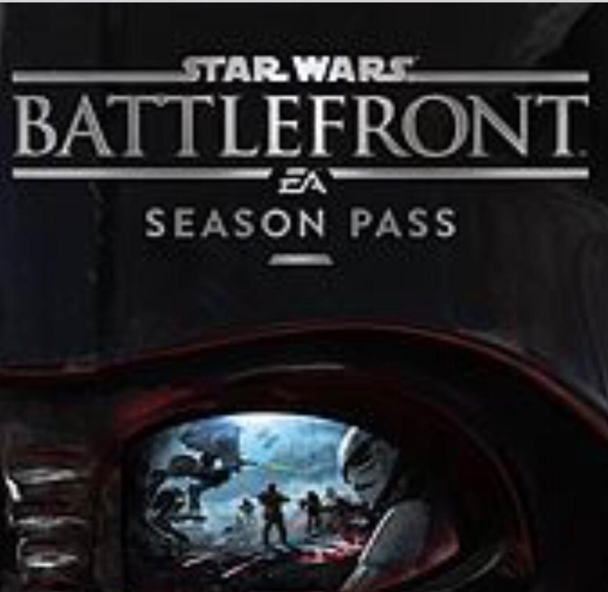 Star Wars Battlefront Season Pass Free, Ultimate Edition £3.99 @ PSN Store