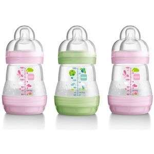 Mam 160ml bottles  £9 at Superdrug
