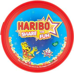 2 Tubs for £5 - Haribo 700g - Swizzels Super Star 630g @ Morrisons (online and instore)