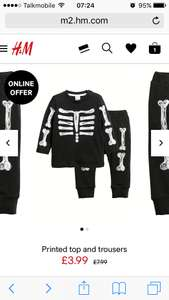 Babies Halloween Outfit £3.59 with code from H&M