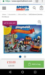 Various playmobil half price sports direct - from £10 + £4.99 delivery
