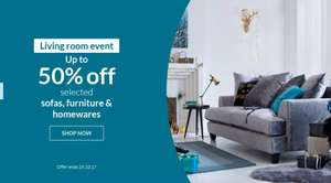 Up to 50% off Selected Living Room  on Littlewoods