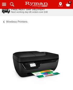 HP officejet 3831 all in one printer £29.99 (free C+C)  at RYMAN (please do not offer / post referrals)