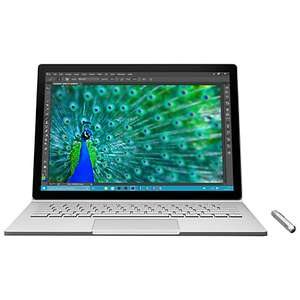 "Microsoft Surface Book, Intel Core i5, 8GB RAM, 128GB, 13.5"" PixelSense Touch Screen, Silver and 0% Finance Instore £999 @ John Lewis"