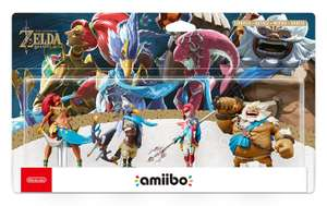 The Champions Amiibo - The Legend of Zelda: Breath of the Wild Collection @ Amazon £49.99