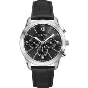 Bulova Mens Dress Watch 96A173 £48.99 with Free Next Day Delivery in Flash Sale @ Watches 2 U (same watch £79.99 @ Argos)
