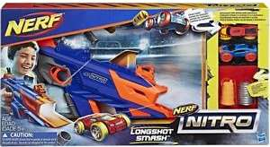 Nerf Nitro LongShot Smash - Save 25%: Was £22.00 Now £16.50​​ @ Sainsbury's
