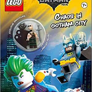 The LEGO® BATMAN MOVIE: Chaos in Gotham City (Activity book with exclusive Batman minifigure) (Lego® DC Comics) £3.49 prime / £6.48 non prime @ Amazon