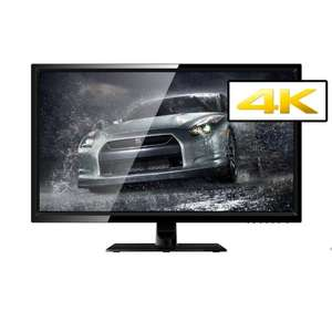 "ElectriQ 28"" 4K Ultra HD 1ms Freesync Monitor £199.97 /  £184.97 with £1 Which trial @ Laptops Direct"