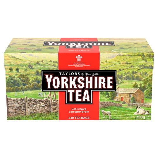 Yorkshire tea bags 240 £4 @ Tesco
