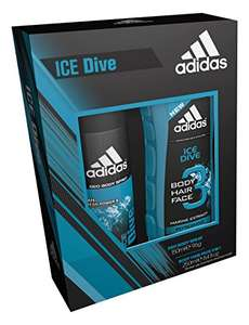Adidas Ice Dive Body Spray and Shower Gel Duo @ Amazon £3 delivered with Prime / £7.75 non prime / Orders over £20 spend