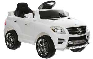Mercedes ML350 6v Electric Ride on Car with Remote  - RRP £240  Now  Half Price Just £120 @ Halfords