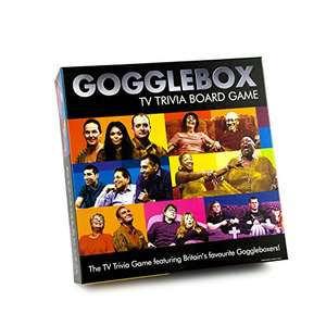Gogglebox TV Trivia Board Game £8.64 prime / £13.39 non prime @ Amazon
