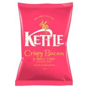 Kettle Chips Crispy Bacon & Maple Syrup (150g) was £1.00 now 94p (Rollback Deal) @ Asda