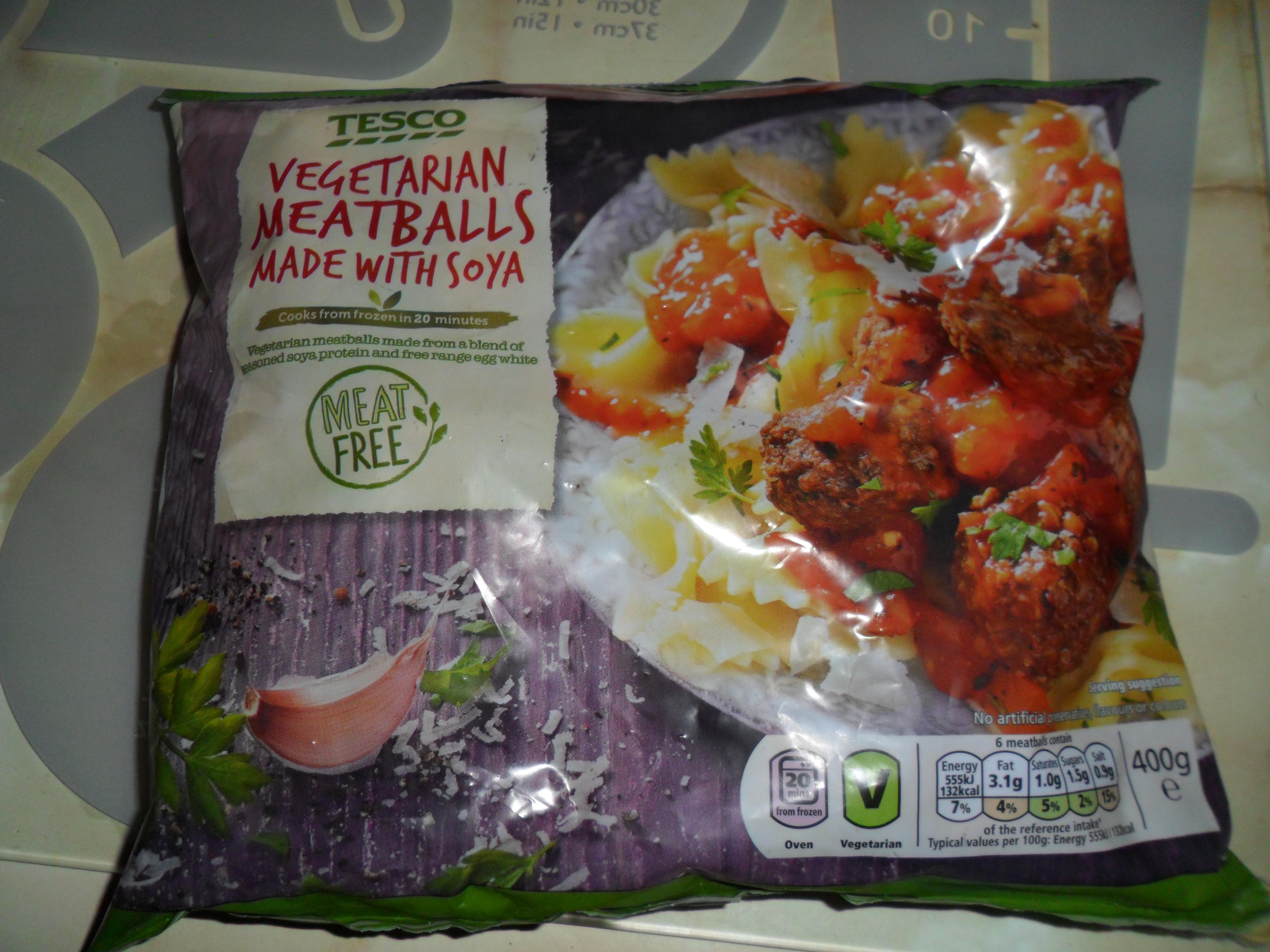 vegaterian Meatballs 10p @ Tesco Hamilton Estate Leicester