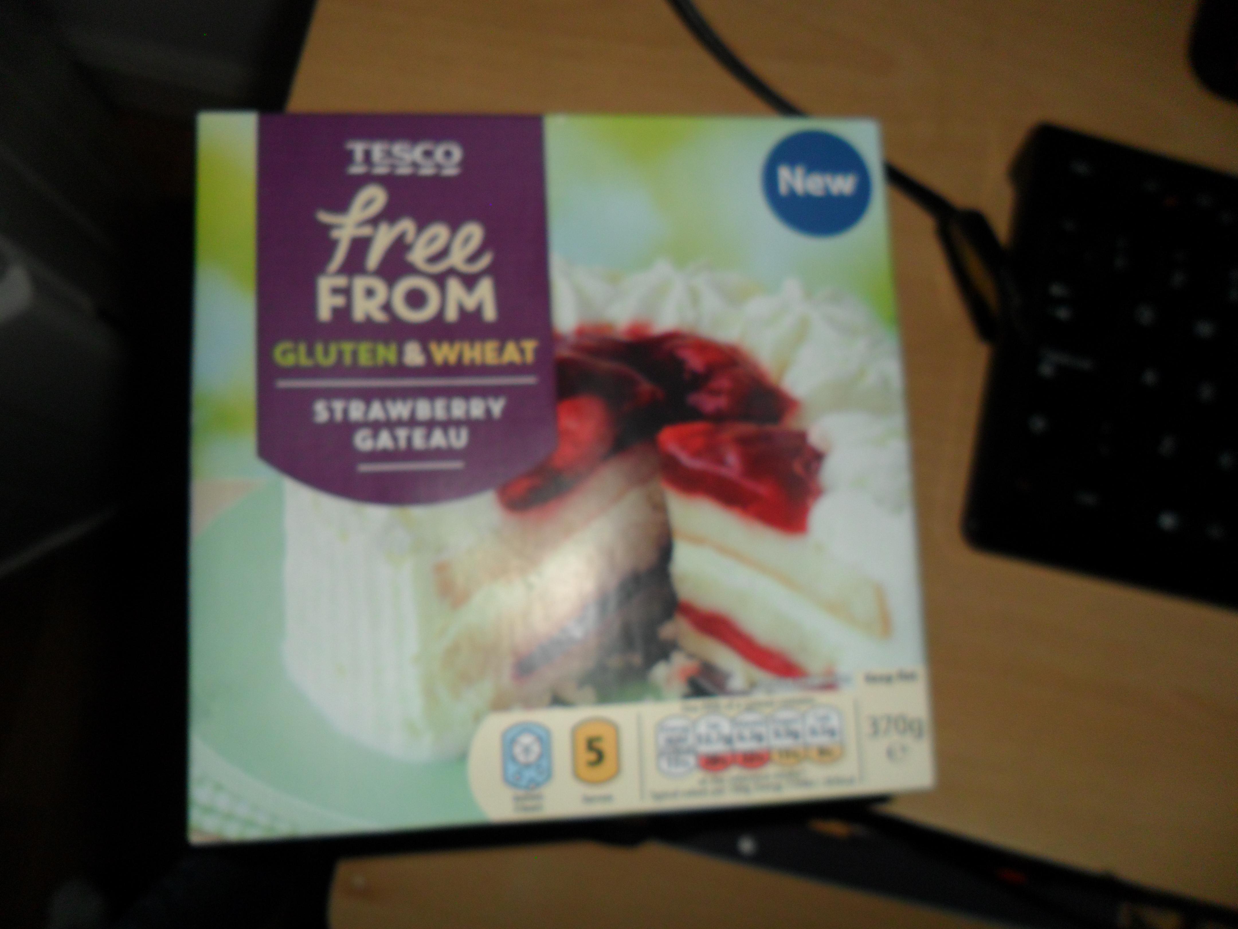 Free from Gluten & Wheat strawberry Gateau 20p @ Tesco Hamilton Estate Leicester