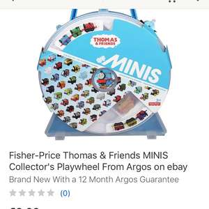 Thomas & Friends Minis Collector Case  £9.99 @ Argos / Ebay - Free P&P