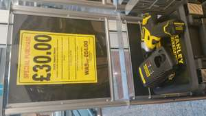 Stanley fatmax 10.8v Impact Driver £30 @ Black & Decker outlet - Lowry Outlet